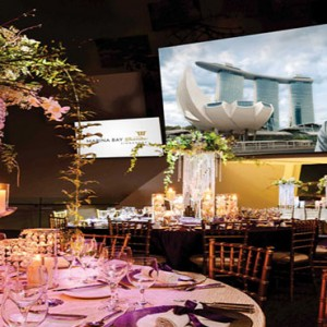 Marina Bay Sands - Luxury Singapore Honeymoon Packages - wedding