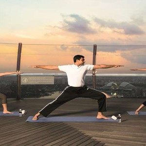 Marina Bay Sands - Luxury Singapore Honeymoon Packages - Yoga