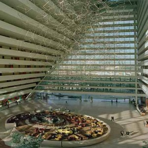 Marina Bay Sands - Luxury Singapore Honeymoon Packages - entrance lobby