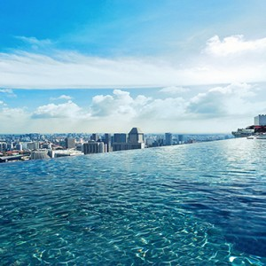 Marina Bay Sands - Luxury Singapore Honeymoon Packages - infinity rooftop pool