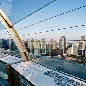 Marina Bay Sands - Luxury Singapore Honeymoon Packages - observation deck