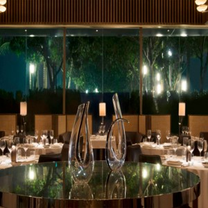 Marina Bay Sands - Luxury Singapore Honeymoon Packages - spago dining room by Wolfgang Puck
