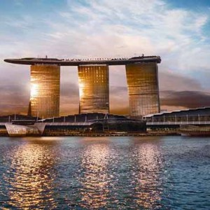 Marina Bay Sands - Luxury Singapore Honeymoon Packages - view of hotel