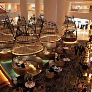 Pan Pacific Luxury Singapore Honeymoon Packages Atrium