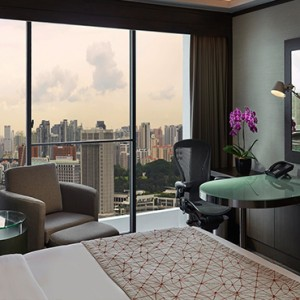 Pan Pacific Luxury Singapore Honeymoon Packages Pacific Room
