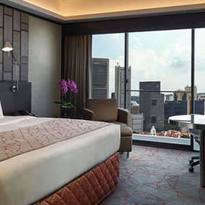 Pan Pacific Luxury Singapore Honeymoon Packages Pacific Skyline Suite