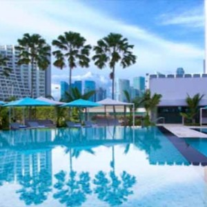 Pan Pacific Luxury Singapore Honeymoon Packages Poolside Bar