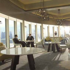 Pan Pacific Luxury Singapore Honeymoon Packages Bar Lounge