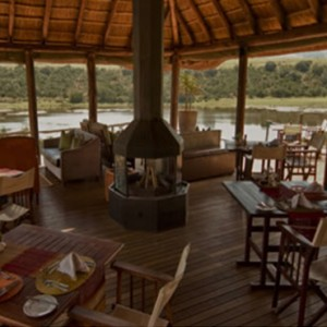 Pumba Private Game reserve - Luxury South Africa Honeymoon Packages - Restaurant