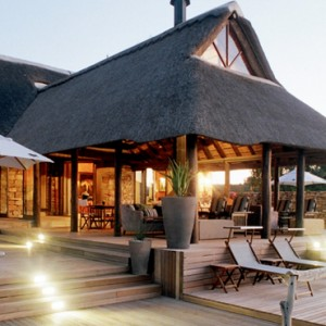 Pumba Private Game reserve - Luxury South Africa Honeymoon Packages - Water Lodge exterior