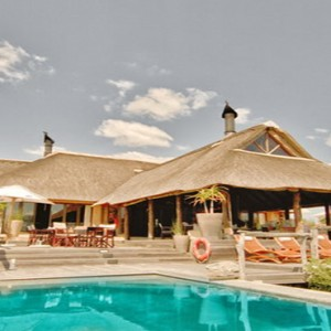 Pumba Private Game reserve - Luxury South Africa Honeymoon Packages - lodge exterior