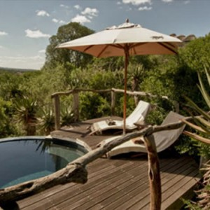 Pumba Private Game reserve - Luxury South Africa Honeymoon Packages - lodge pool