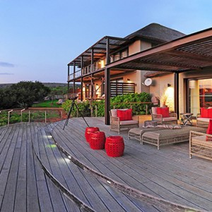 Shamwari Game Reserve - Luxury South Africa Honeymoon Packages - exterior view