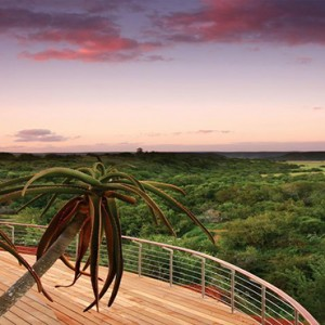 Shamwari Game Reserve - Luxury South Africa Honeymoon Packages - safari view
