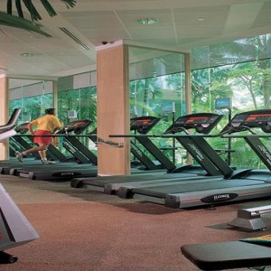 Shangri la Singapore - Luxury Singapore Honeymoon Packages - Fitness