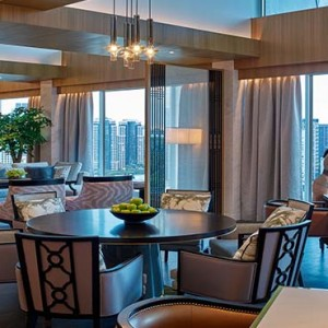 Shangri la Singapore - Luxury Singapore Honeymoon Packages - Horizon club lounge