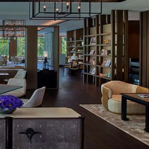 Shangri la Singapore - Luxury Singapore Honeymoon Packages - Library