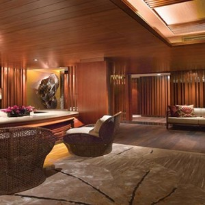 Shangri la Singapore - Luxury Singapore Honeymoon Packages - Spa reception