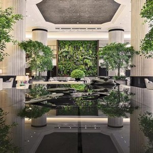 Shangri la Singapore - Luxury Singapore Honeymoon Packages - lobby