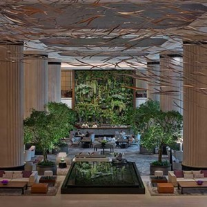 Shangri la Singapore - Luxury Singapore Honeymoon Packages - lobby view