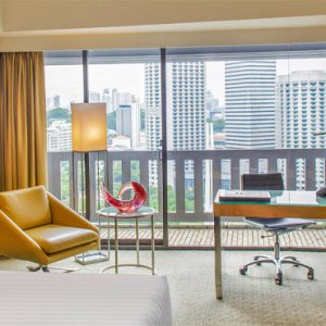 Singapore Honeymoon Packages PARKROYAL On Marina Bay Deluxe Suite Bedroom