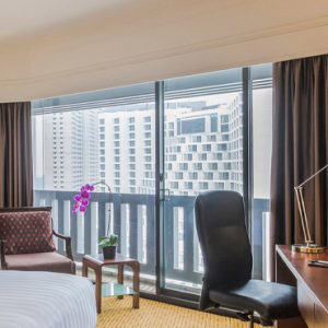 Singapore Honeymoon Packages PARKROYAL On Marina Bay Family Room Bedroom