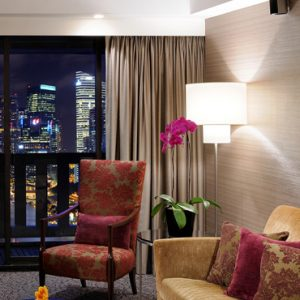 Singapore Honeymoon Packages PARKROYAL On Marina Bay Marina Bay Suite Living Room