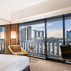Singapore Honeymoon Packages PARKROYAL On Marina Bay Premier Marina Bay View Room Bedroom