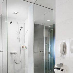 Singapore Honeymoon Packages PARKROYAL On Marina Bay Premier Room Bathroom