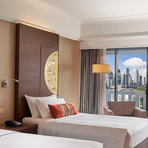 Singapore Honeymoon Packages PARKROYAL On Marina Bay Superior Room Bedroom 2