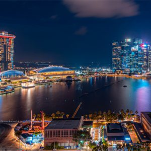 Singapore Honeymoon Packages PARKROYAL On Marina Bay View 2