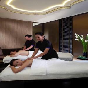 Singapore Honeymoon Packages Mandarin Oriental Couple Spa Suite Treatment