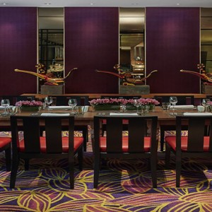 Singapore Honeymoon Packages Mandarin Oriental Melt Cafe Private Dining