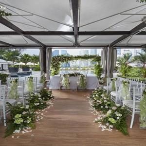 Singapore Honeymoon Packages Mandarin Oriental Private Wedding Cabana