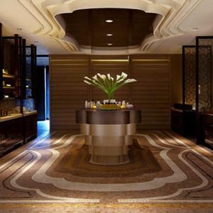 Singapore Honeymoon Packages Mandarin Oriental Spa Entrance
