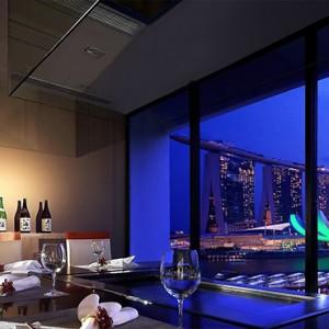 Singapore Honeymoon Packages Mandarin Oriental Teppan Ya Restaurant