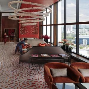 Singapore Honeymoon Packages Mandarin Oriental Club Lounge