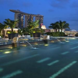 Singapore Honeymoon Packages Mandarin Oriental Wellness Pool