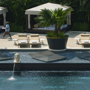 Singapore Honeymoon Packages Mandarin Oriental Wellness Pool1