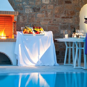Suite with Private Pool 3 - Mykonos Grand Hotel and Resort - luxury Greece honeymoon Packages