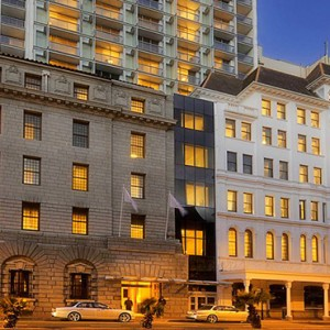 Taj Cape Town - Luxury South Africa Honeymoon Packages - Hotel exterior