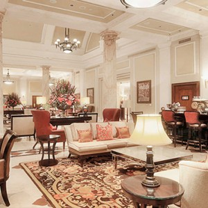 Taj Cape Town - Luxury South Africa Honeymoon Packages - Lobby lounge1