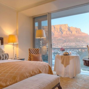 Taj Cape Town - Luxury South Africa Honeymoon Packages - Luxury Tower Rooms with Mountain view