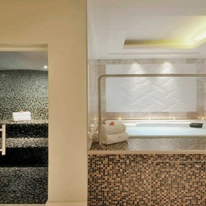 Taj Cape Town - Luxury South Africa Honeymoon Packages - Spa jacuzzi and Sauna
