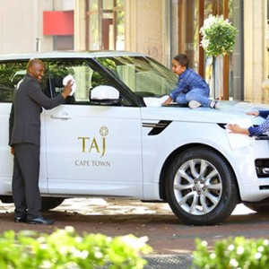 Taj Cape Town - Luxury South Africa Honeymoon Packages - car taxi
