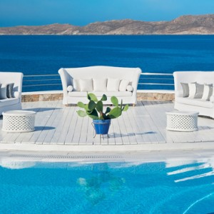 pool 5 - Mykonos Grand Hotel and Resort - luxury Greece honeymoon Packages