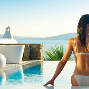 pools 2 - Mykonos Grand Hotel and Resort - luxury Greece honeymoon Packages