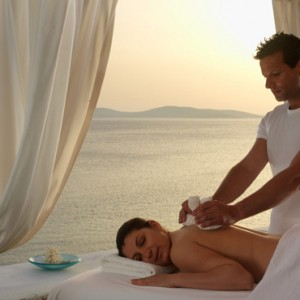 spa 2 - Mykonos Grand Hotel and Resort - luxury Greece honeymoon Packages