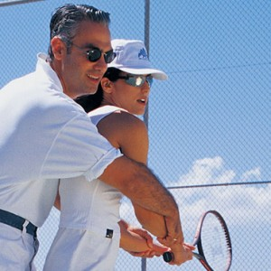 tennis - Mykonos Grand Hotel and Resort - luxury Greece honeymoon Packages