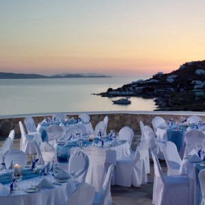 wedding - Mykonos Grand Hotel and Resort - luxury Greece honeymoon Packages